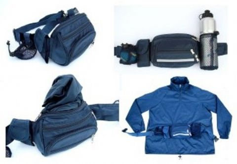 Rain Jacket Bag Holds Dog Walking Accessories Rambling Walking Maps